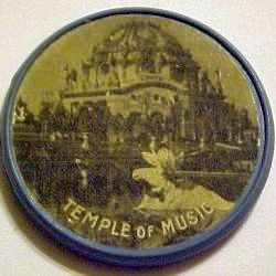 Image of the 1901 Vulcanite encased Temple of Music