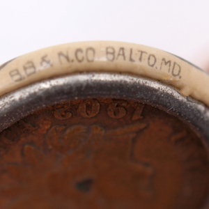 Close up of BB & N Co. /Balto. MD.