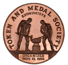 TAMS (Token and Medal Society logo
