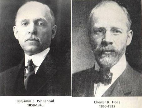 Image of Chester Hoag and Benjamin Whitehead